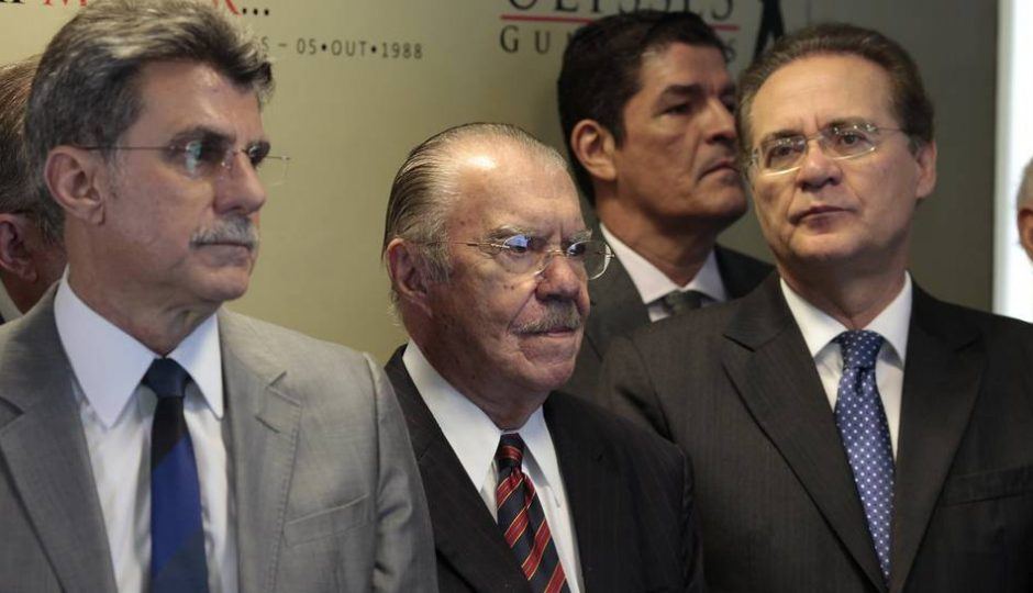 Janot pede a prisão de Renan, Cunha, José Sarney e Jucá