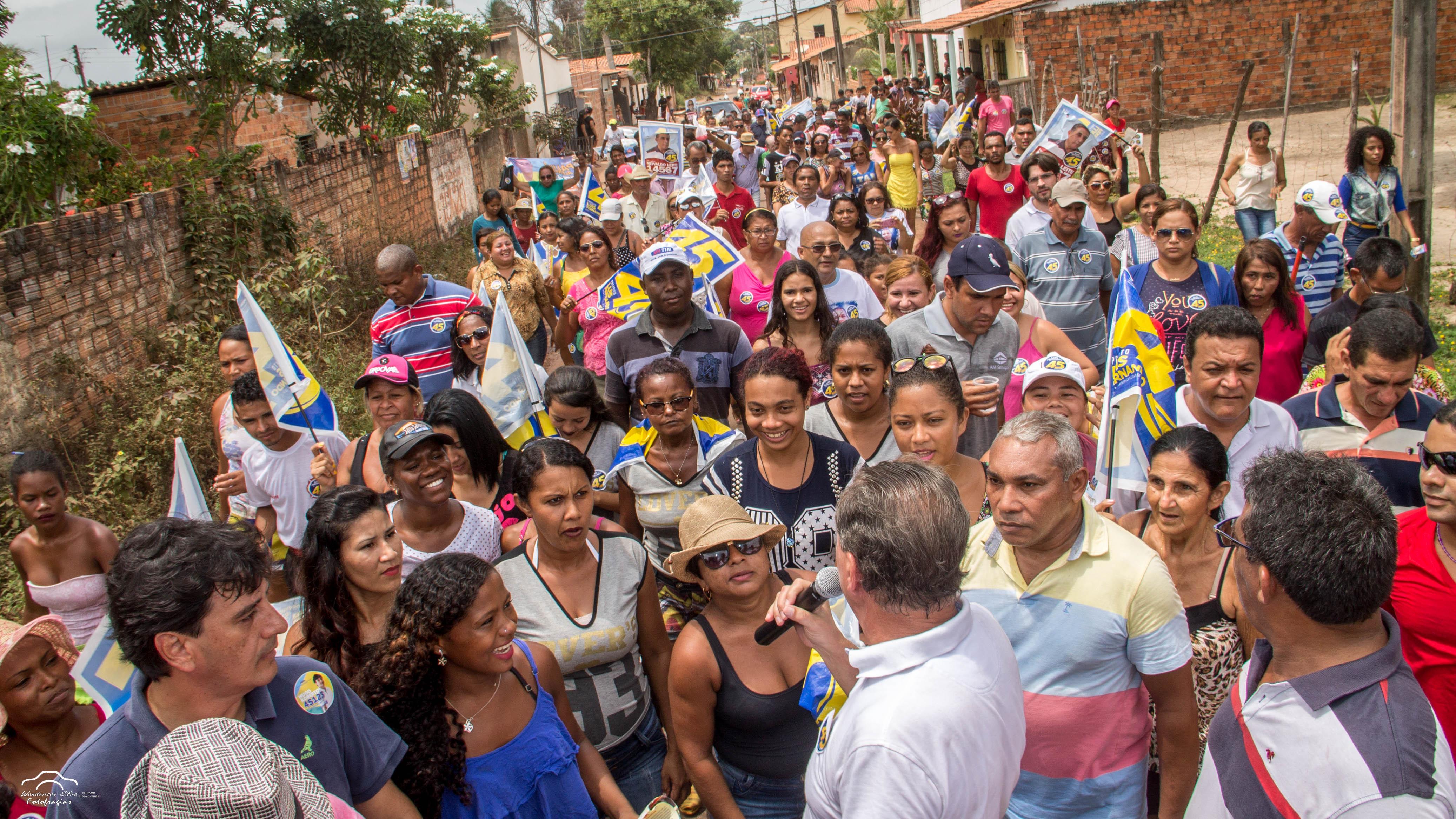 Luis Fernando visita mais oito bairros e reforça o compromisso de reconstruir Ribamar