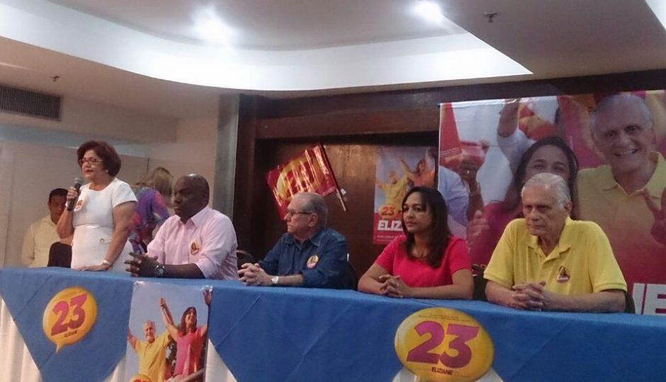 Eliziane Gama promove evento para João Castelo em agenda oculta