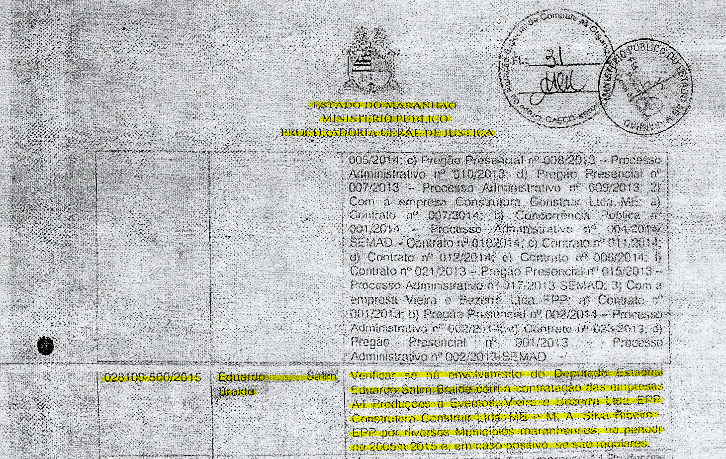 Documento sigiloso da PGJ mostra que Gaeco abriu investigação para saber se há a participação de Eduardo Braide no esquema criminoso