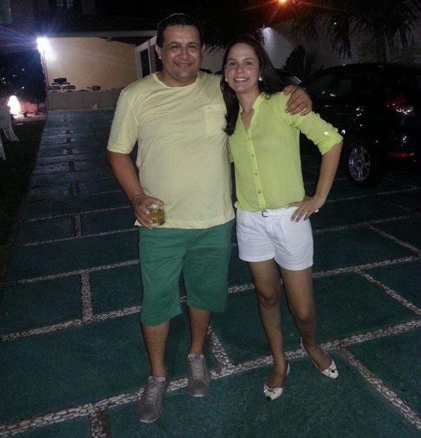 O ex-deputado Jota Pinto e a proprietária da Limax Serviços, segundo a Receita Federal, Karla Tyara Pinto
