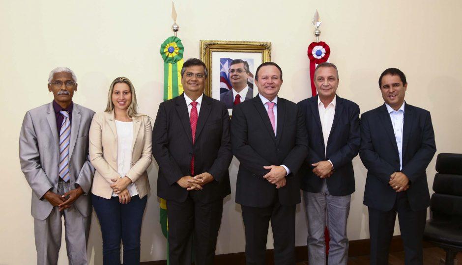 Luis Fernando defende parcerias com o governo em favor de Ribamar