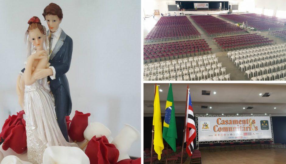 """CGJ celebra """"Casamento Comunitário"""" gratuito em São Luís com quase mil casais"""