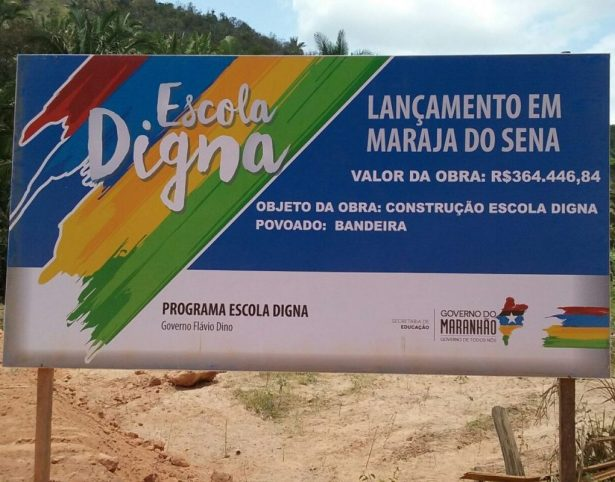 Projeto acabaria com subversões custeadas com dinheiro público como a feita pelo seu próprio governo Flávio Dino em Marajá do Sena