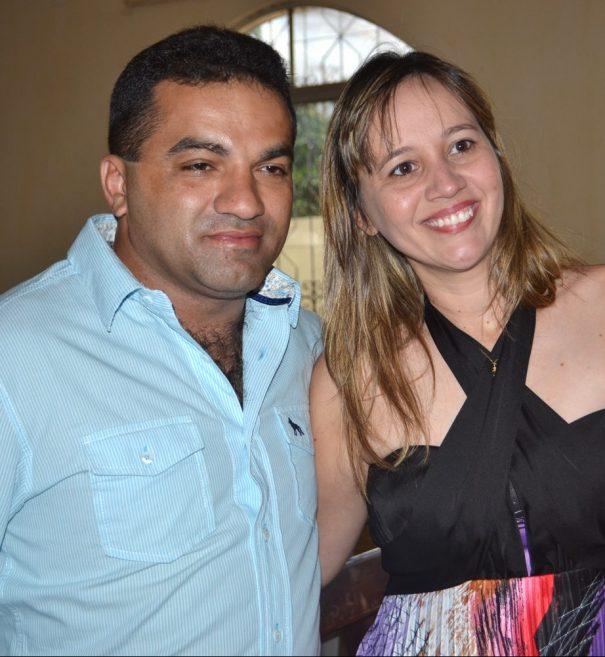 Josimar de Maranhão e a esposa, a ex-prefeita de Centro do Guilherme, Detinha. Ambos tentaram evitar prisão pela PF com o habeas corpus