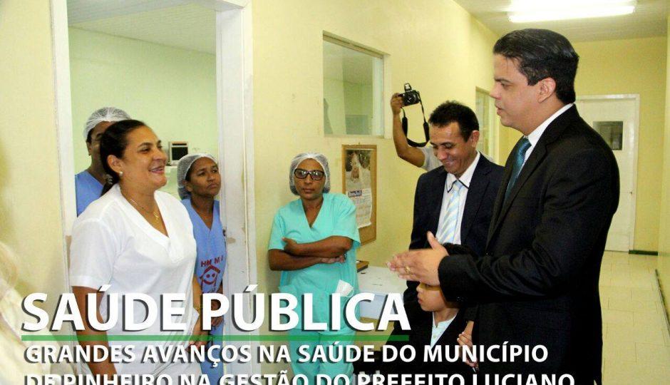 Luciano Genésio começa a mudar a saúde pública de Pinheiro