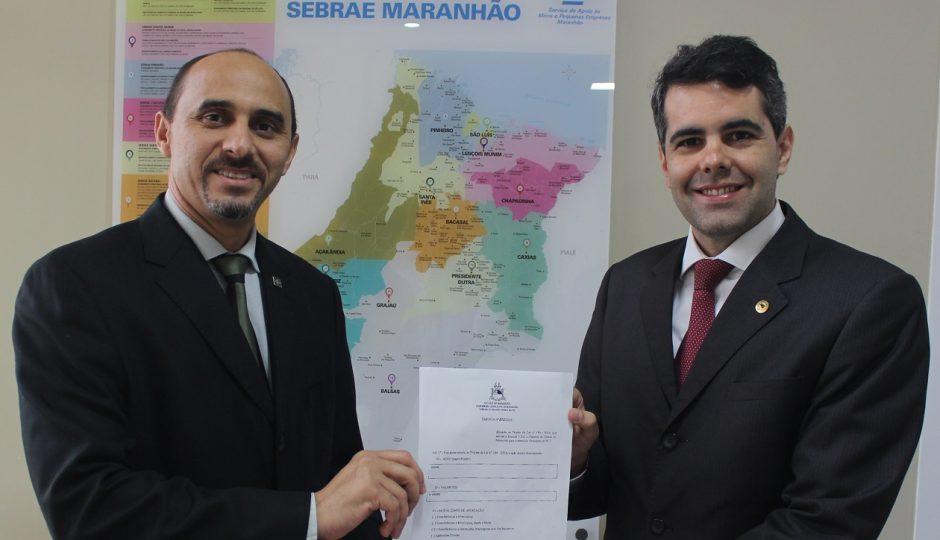 Adriano destina R$ 100 mil ao Sebrae para empoderamento do microempresário