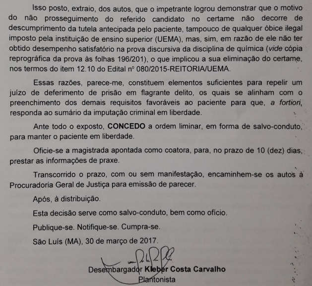 concessao-habeas-corpus-reitor-uema-gustavo-pereira-da-costa