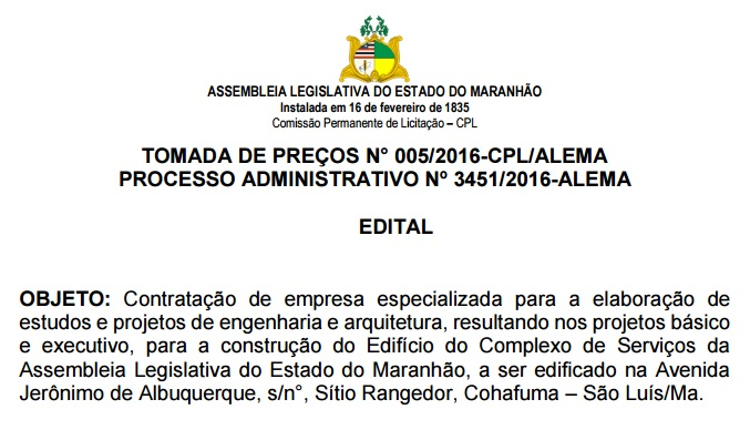 edital-novo-complexo-assembleia-legislativa-maranhao-sitio-rangedor