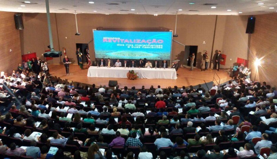 Seminário mobiliza a sociedade para a preservação dos rios no Maranhão