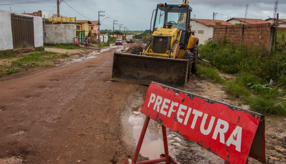 Prefeitura intensifica operação tapa buracos em São José de Ribamar