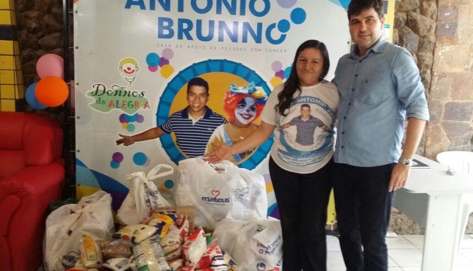 Instituto Cidade Solidária entrega alimentos a instituições beneficentes
