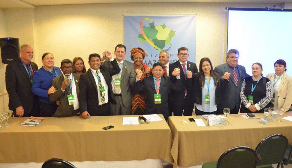 Wellington é eleito 2º vice-presidente do Parlamento Amazônico