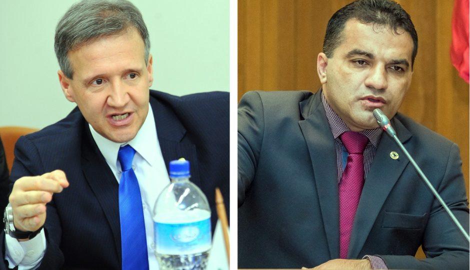 Aluísio pede ao TRF-1 informações sobre processos criminais contra Josimar