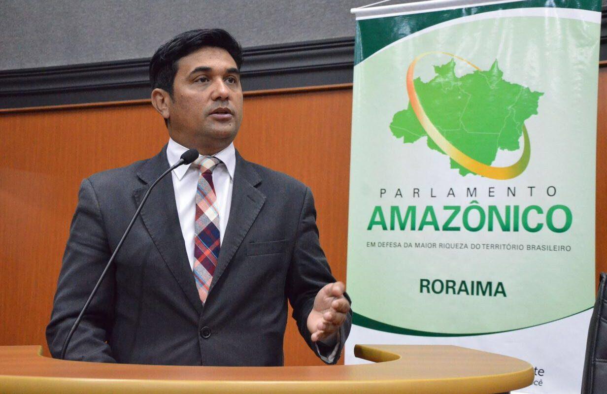 Wellington assume 2ª vice-presidência do Parlamento Amazônico
